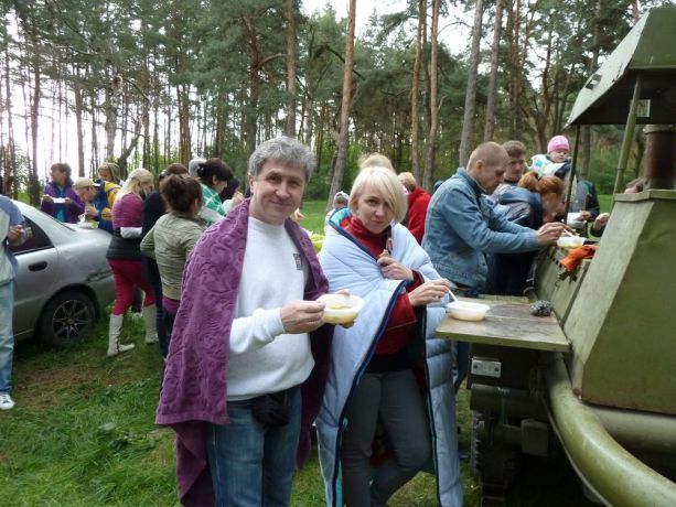 Ukraine: A picnic for IDPs from the east of Ukraine during STM campaign More Info