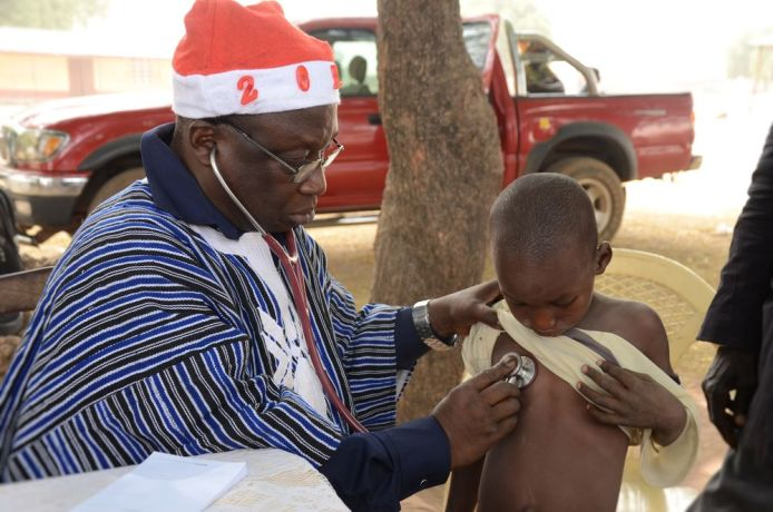 Ghana: Ghanian doctors formed part of the HopeVisit outreach to Fulani people in Northern Ghana. More Info