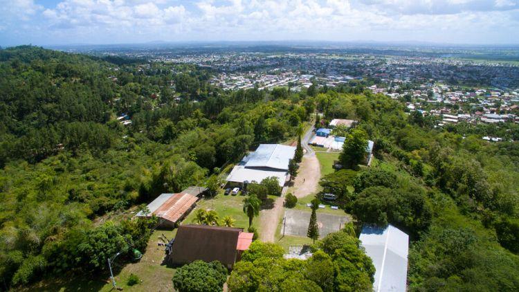 Trinidad & Tobago: Port of Spain, Trinidad  Tobago :: Aerial shot of Trinidads landscape. More Info