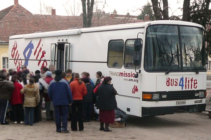 Hungary: The Bus4Life in Hungary More Info