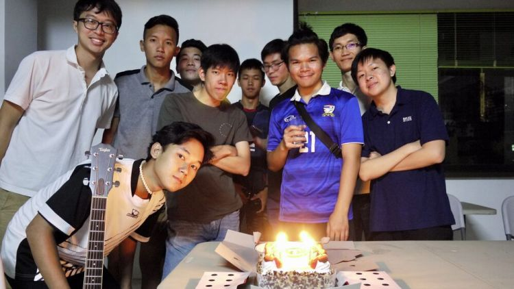 Thailand: This is a monthly birthday celebration among the young mens group in church. We build friendship in the group, at the same time, build relationship with God. More Info
