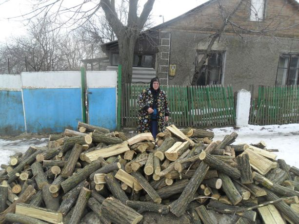Moldova: Every winter OM Moldova provides many people in need with basic necessities like firewood. In an attempt to keep warm, this lady had been dressed day and night in as many layers of clothes as she could fit on. Receiving firewood she broke into tears, as it enabled her to heat her home for the first time in 16 years. More Info