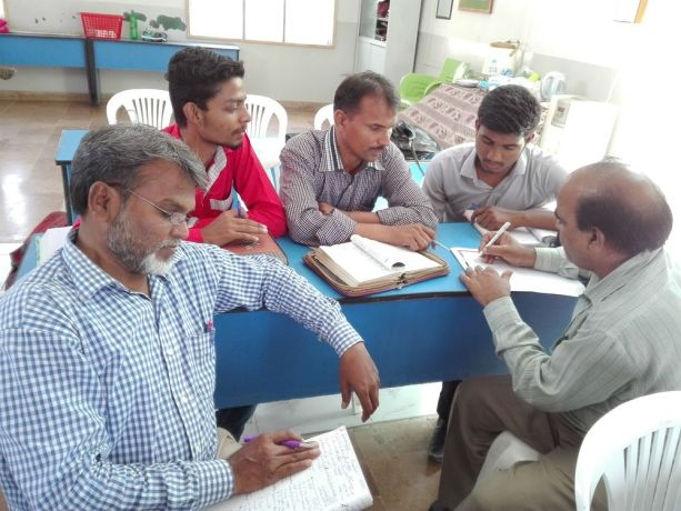 Pakistan: A discipleship group working on an assignment in Pakistan. More Info