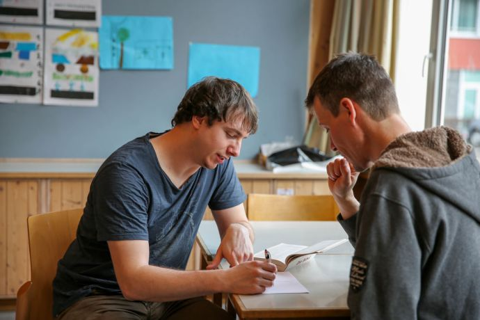 Switzerland: Mentoring is an important part of the discipleship program at Hope for Zurich. Photo by Anja B. More Info