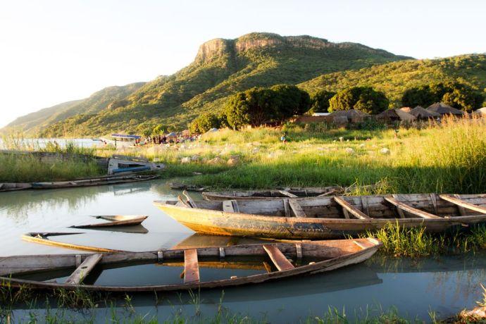 Zambia: A view of Kapembwa mountain from Kapembwa village. More Info