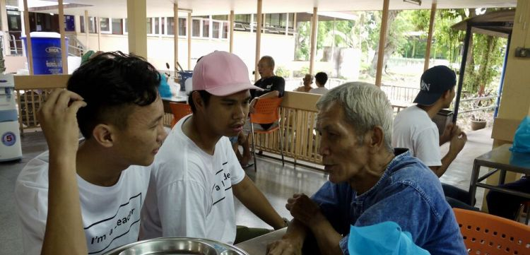 Thailand: A mens camp was held last weekend in Pattaya, Thailand. 25 young men lived together and learnt how to be godly leaders in the future. Besides lecture time, participants ministered at a care home for the elderly by listening to their stories, singing with them and praying for them. More Info