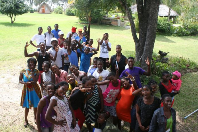 Zimbabwe: Next Generation Youth Camp attendees More Info