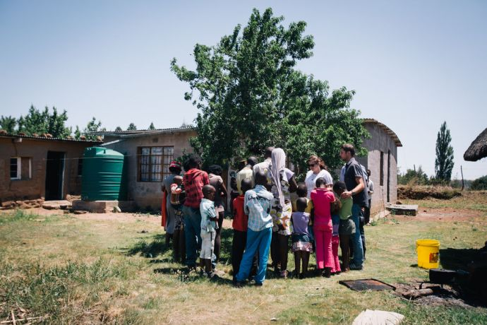 South Africa: MDT students pray for children in Lesotho. More Info