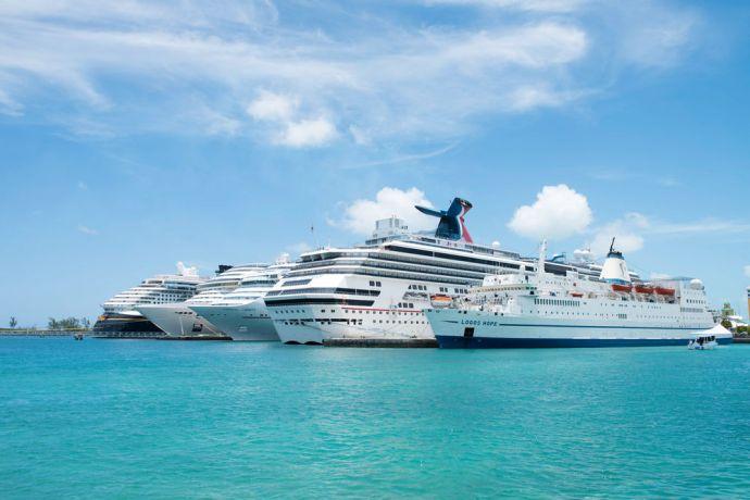 Bahamas: Nassau, The Bahamas :: Logos Hope at her berth in Nassau. More Info