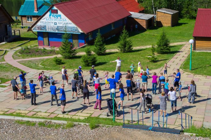 Russia: This camp focus on reaching disable kids in Russia. The one in the photo took place in Siberia Region. More Info
