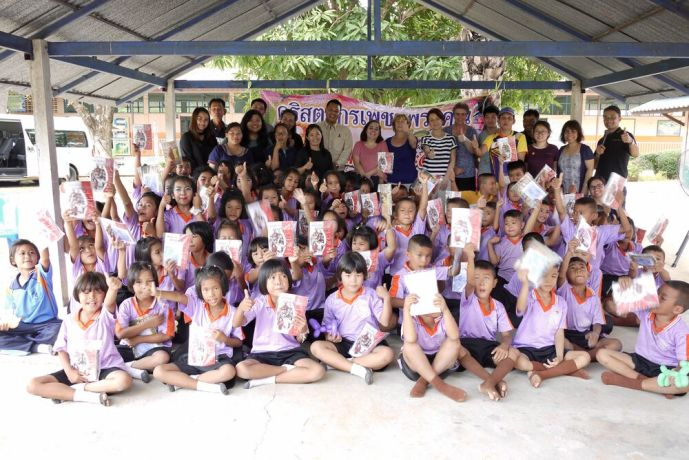 Thailand: This was one of seven schools that the OCZ outreach team visited and shared the gospel at through a magic show.  OM is partnering with a local church to help build relationships with these schools. More Info
