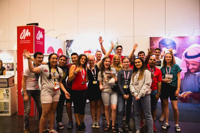 Germany: Teenagers experience vibrant community at TeenStreet, OMs international youth congress. More Info