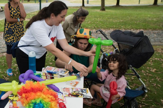 Portugal: The Transform team in Portugal went to a nearby park to host an impromptu fair for neighbourhood children. More Info