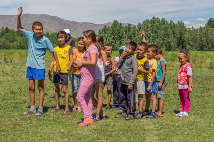 Russia: Camp held for kids in challenging spiritual culture in Russia. More Info
