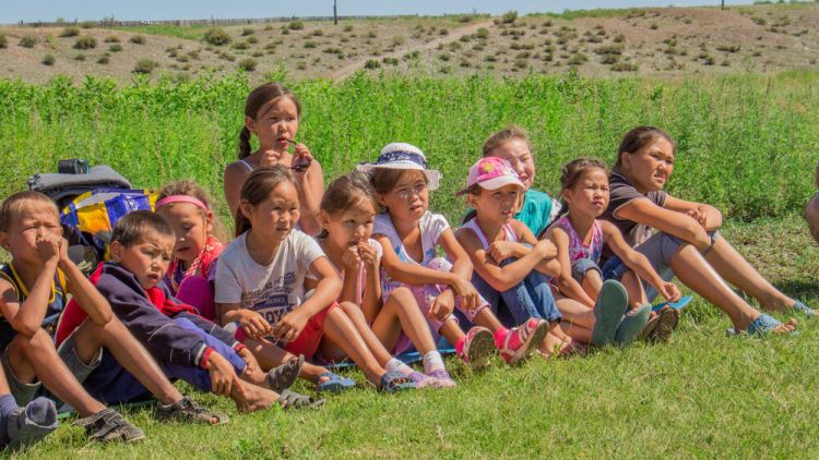 Russia: Camp for Tuvan kids in Russia included Bible lessons. More Info