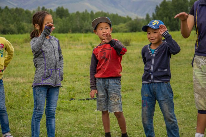 Russia: Kids camp in Russia for children from unreached community. More Info