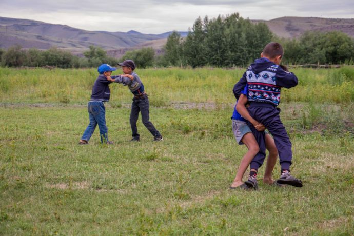 Russia: kids camp in Russia brought boys and girls from unreached Tuvan community. More Info