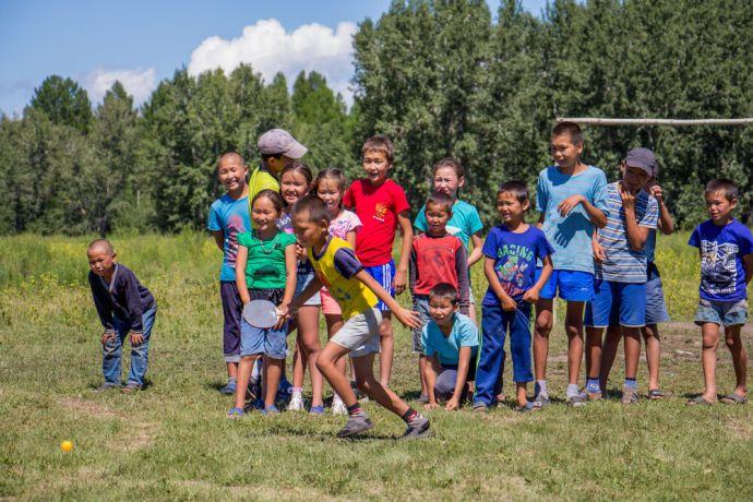 Russia: Kids camp in unreached community in Russia More Info