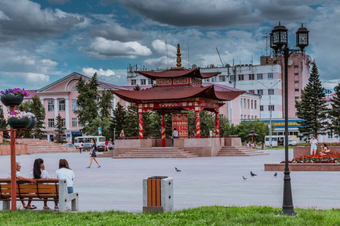 Russia: Buddhism plays a significant role in the life and culture of Tuva, Russia. More Info
