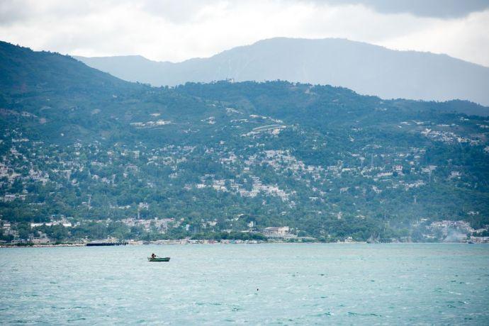 Haiti: Port-au-Prince, Haiti :: Landscape of Port-au-Prince, Haiti. More Info