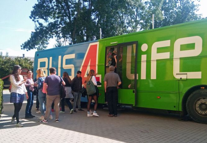 Hungary: OM's Bus4Life travelled in Hungary for a week in September 2017, ministering to vulnerable young people and educating students on the realities of abortion as part of a pro-life outreach. More Info
