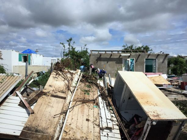 Antigua & Barbuda: St Johns, Antigua and Barbuda :: A destroyed house on Barbuda after Hurricane Irma. More Info
