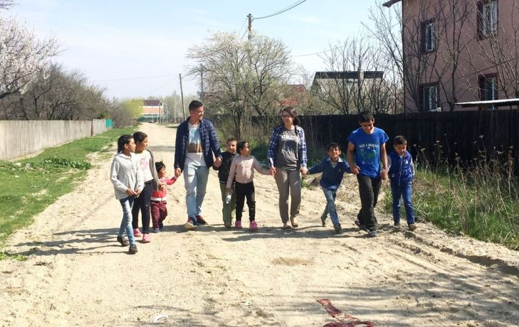 Romania: Village kids in Romania being loved by MDT-e3 students More Info