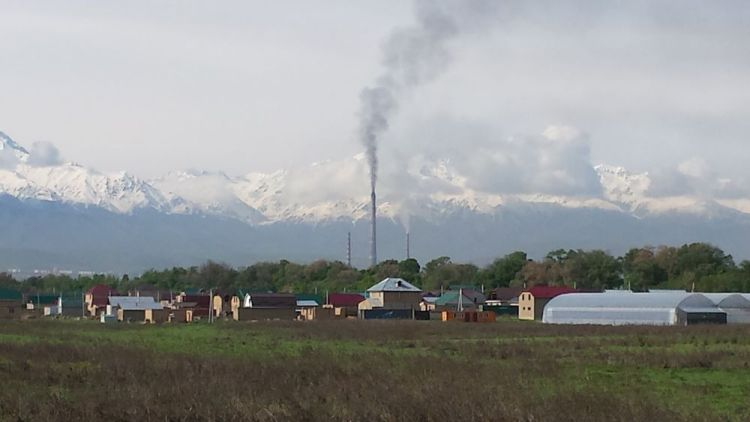 Central Asia: Many Central Asians have a view of the huge, snow-capped mountains which tower over their homes and industry. More Info