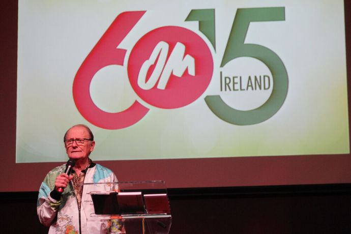 Ireland: George Verwer at OM Irelands 6015 anniversary event More Info