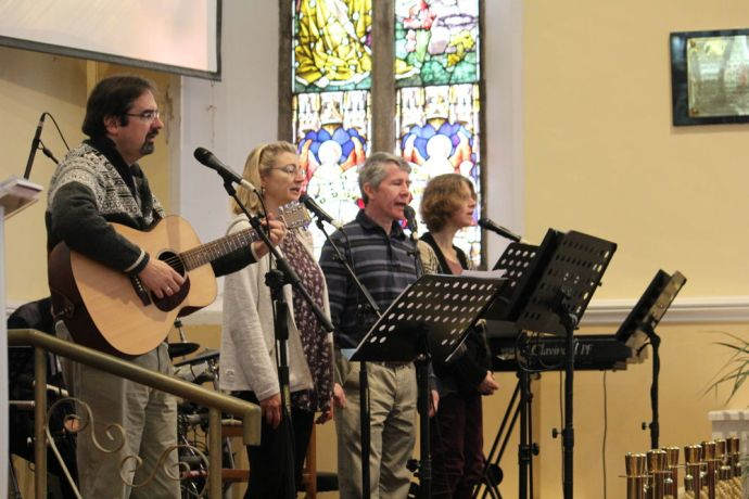 Ireland: Sunday morning worship at local Dublin church as part of OM Irelands 6015 anniversary event More Info