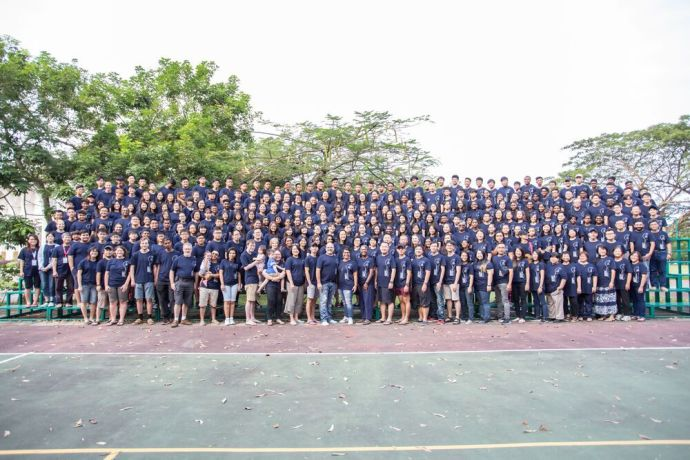 Malaysia: All the participants and workers at Teenstreet Malaysia 2017. More Info