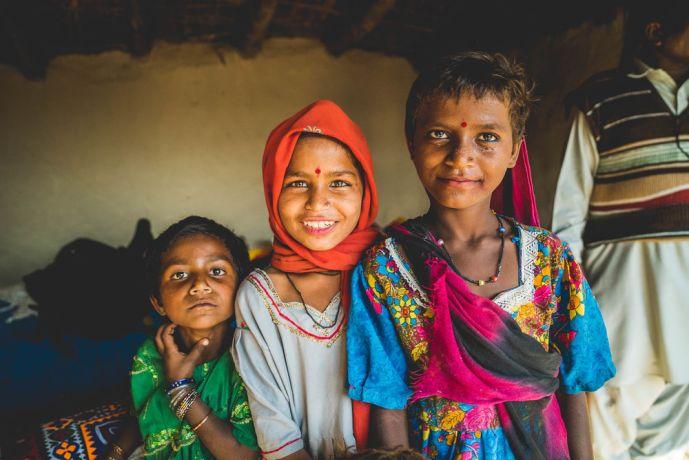Pakistan: Tribal children in Pakistan. Photo by Justin Lovett More Info
