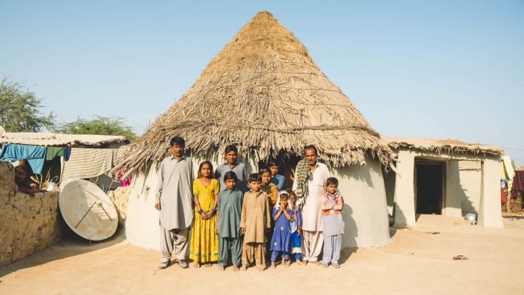 Pakistan: Tribal family in Pakistan.