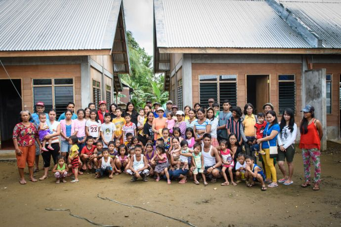 Philippines: New duplex homes donated to sponsor families in. the Philippines after a super typhoon destroyed many of there homes. More Info