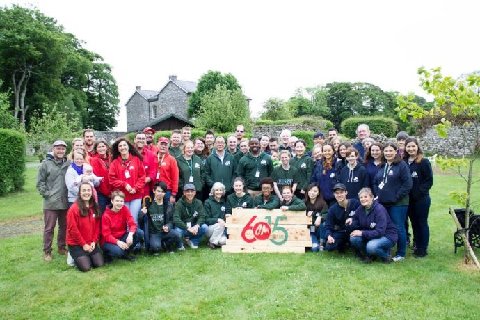 Ireland: The staff of OM Ireland celebrated 60 years of OM International with Lawrence Tong, May 2017. More Info