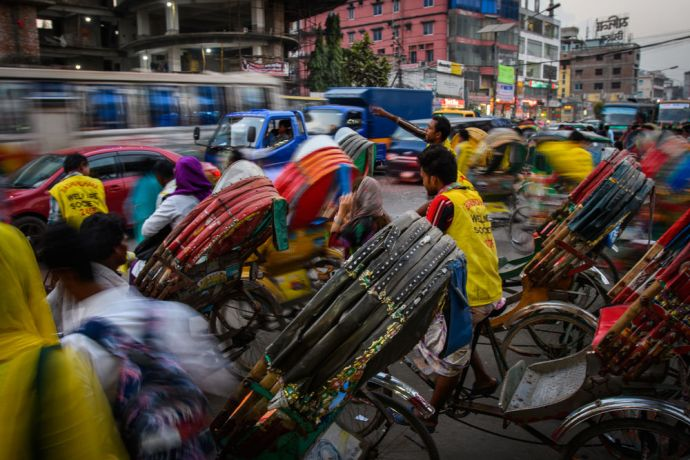 Bangladesh: Cultural images from the streets of Dhaka, Bangladesh.  Photo by Garrett N More Info