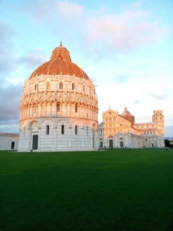 Italy: Leaning Tower of Pisa, Pisa Cathedral, Pisa Baptistry More Info