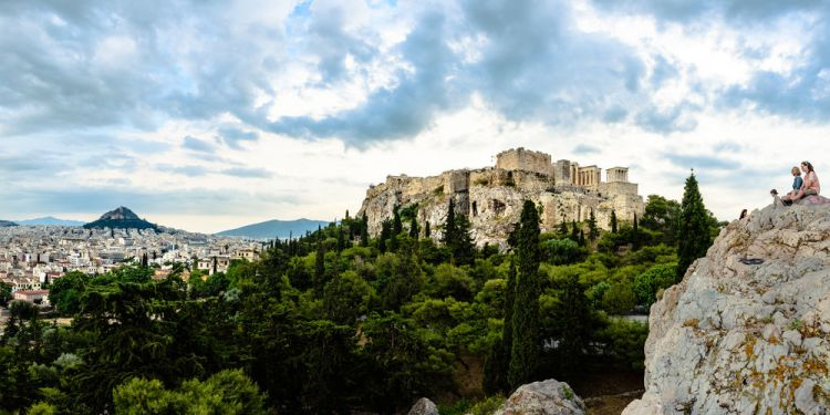 Greece: View of the beautiful city Athens, Greece More Info