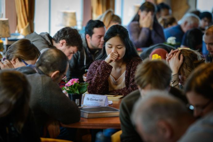 Germany: Despite the limited amount of cabins on board the Riverboat, one cabin was specially set aside as a prayer room to encourage intercessory prayer at all times. More Info