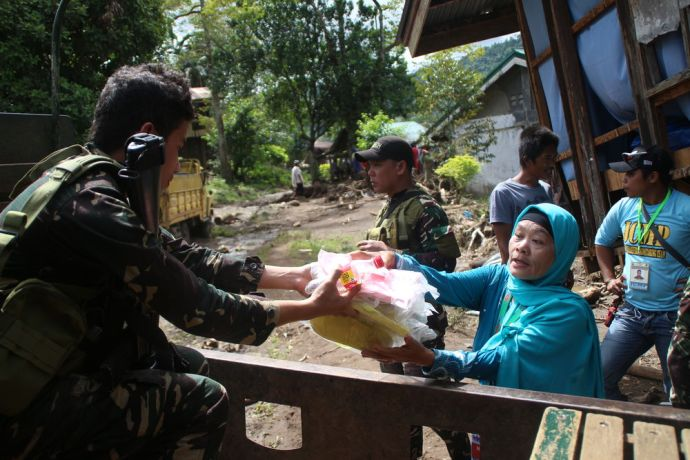 Philippines: After a Typhoon struck Mindanao, Southern Philippines, the OM team responded to the needs of people. The team needed the help of the military to reach the location and delivery preliminary aid. More Info