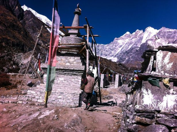 South Asia: Winter time in a small village in Langtang, Nepal More Info