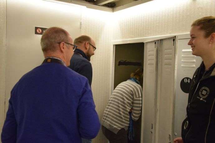 Germany: The staff of OM Ships visits the OM Riverboat. More Info