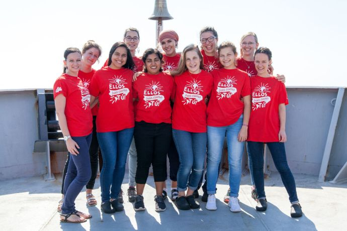 Ships: At Sea :: Crewmembers from the Short Term Experience Program. More Info