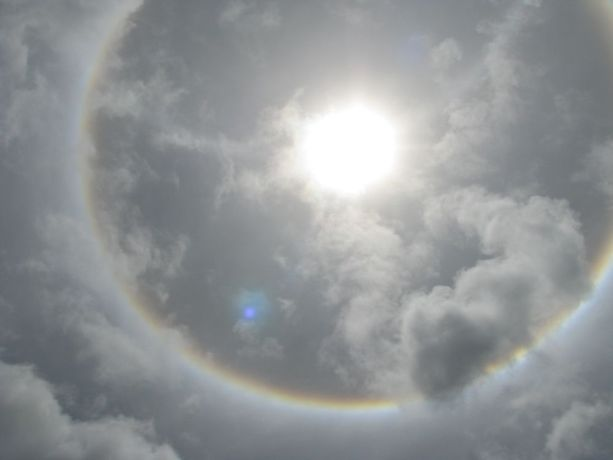 Malawi: Gods blessing showed in the skies above Radio Lilunguka in Malawi on opening day. More Info