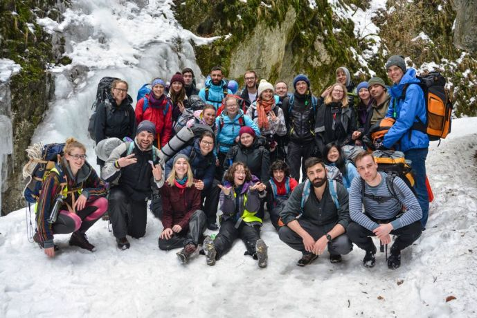 Romania: The MDT-e3 participants are taking a two-day hike in the mountains of Romania for Team building More Info
