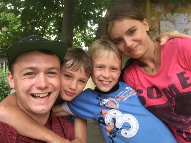 Ukraine: Samuel Hughes, OM Ukraine missionary reaching out to at risk children in Luzanovka More Info