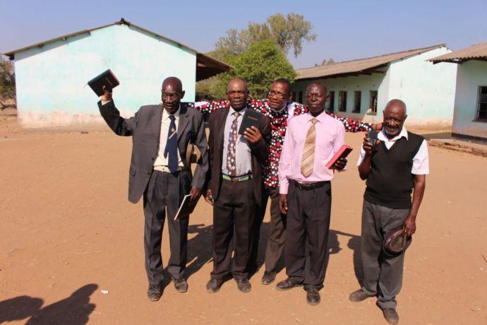 Zimbabwe: OM donated Bibles and an Audio Bible to Pastors in Muzarabani More Info