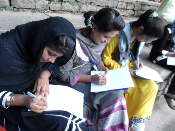 Pakistan: Young women in a discipleship group. More Info