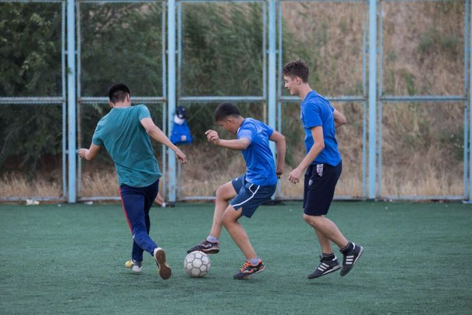 Central Asia: Sports opens doors for relationship and discipleship in Central Asia. Photo by Jay More Info