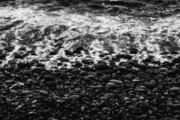 El Salvador: Waves breaking on the coast in El Salvado.  Photo by Garrett N More Info